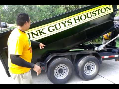JunkGuys Of Houston Texas , Dumpster Pricing and Junk Removal 832-301-8252