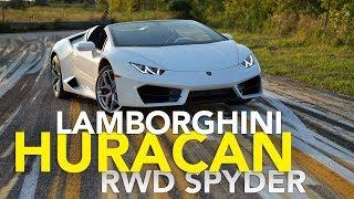 2017 Lamborghini Huracan RWD Spyder Review | LP580-2 Walkaround and Drive