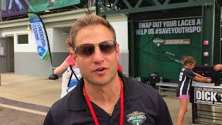 Eric Campesi talks about reuniting with 1998 Toms River East teammates