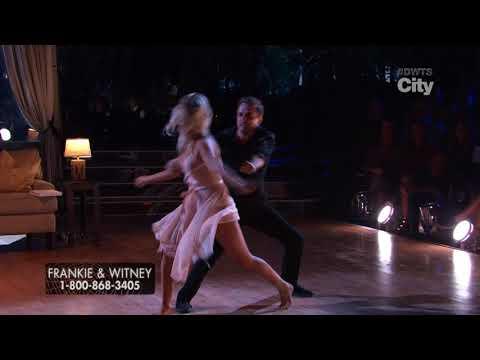 "Halloween Night | Frankie Muniz & Whitney ""Contemporary"" | DWTS Mondays 8/7c"