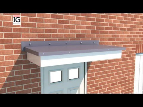 How to install the IG Elements Flat Internal GRP door canopy