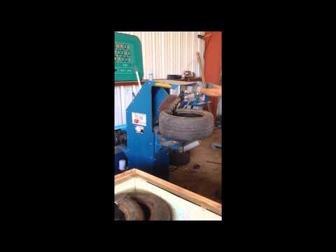 TSI TC-50 Tire Cutting/Recycling Machine