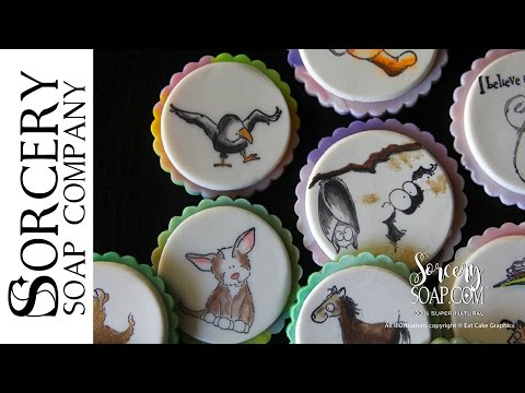 Stamped Soap Cookies by Sorcery Soap™