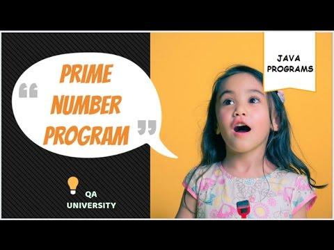 Prime Number Program in Java - Algorithm - Flowchart - Complete Explanation