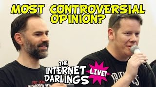 Most Controversial Wrestling Opinions? | Internet Darlings Live