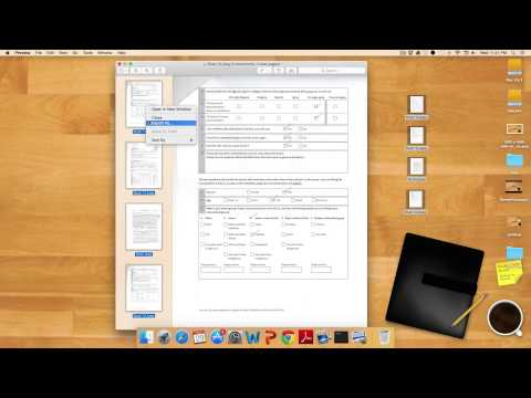 How to Combine Two Scanned Documents Together in OS X