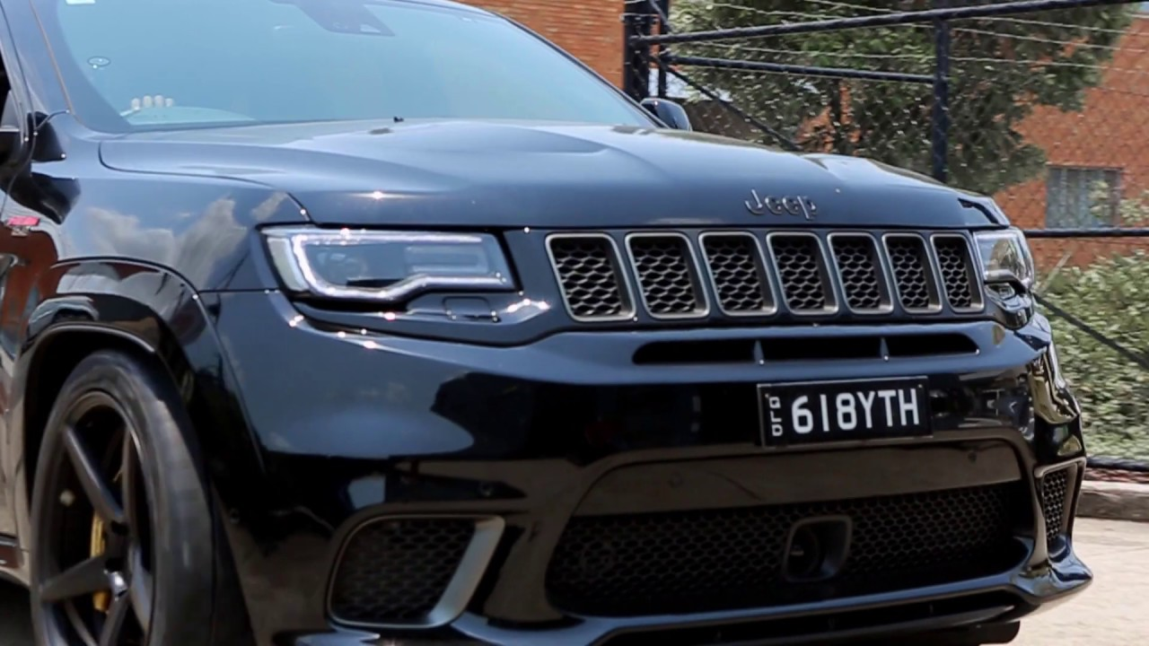 Jeep Trackhawk Transformation— East Coast Customs Stage 3 Package
