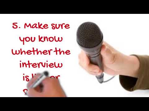 9 Tips To Help You Prepare For A Television Talk Show Appearance