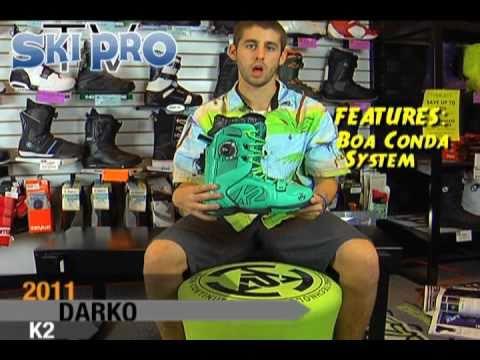 2010/2011 K2 Darko Snowboard Boot Review by SkiProTV