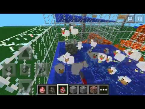 Minecraft PE Chicken Farm and Cooker 0 7 1
