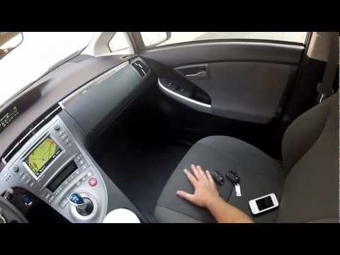 2012 HOV sticker equiped Prius Plug-in Interior inspection & Drive