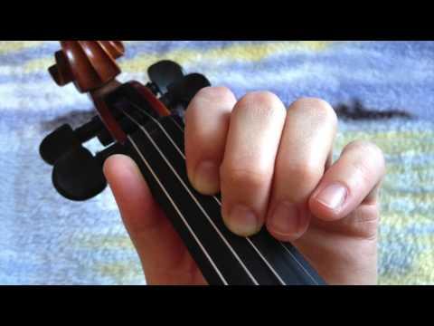 Violin 1st Position Notes