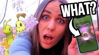NEW GEN 8 POKÉMON? CHIKORITA COMMUNITY DAY | Pokémon GO Vlog | ZoeTwoDots