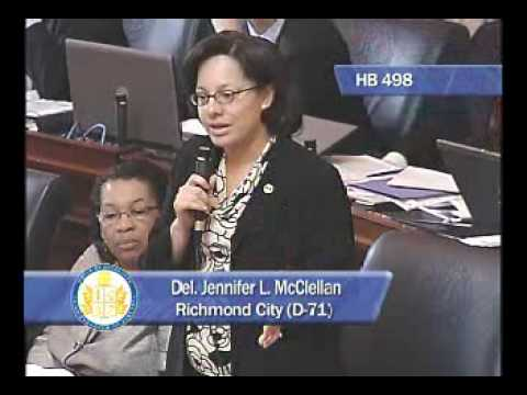 Delegate McClellan On Protecting The Right To Vote In Virginia(HB 498)