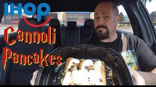 IHOP Cannoli Pancakes Review : Food Review