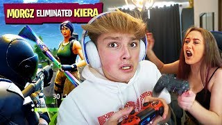 FORTNITE DUOS w/ GIRLFRIEND turns into REAL BREAKUP... [Gone Wrong]