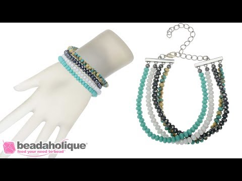 How to Make a Multi-Strand Bracelet using Strand Reducers