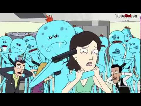Meeseeks and destroy but it's only the frames where Mr Meeseeks is visible