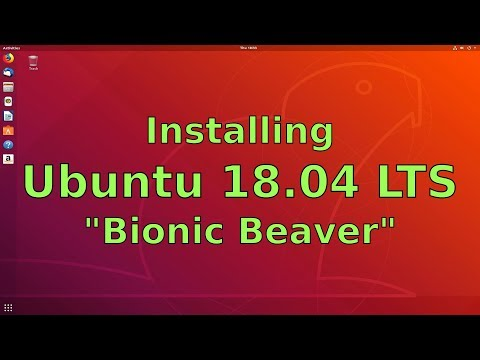 Installing Ubuntu 18.04 LTS