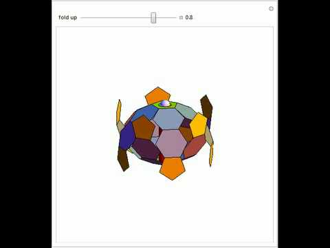 Folding Up a Truncated Icosahedron