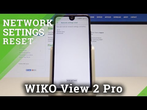 How to Reset Network Settings on WIKO View 2 Pro - Restore Network Configuration