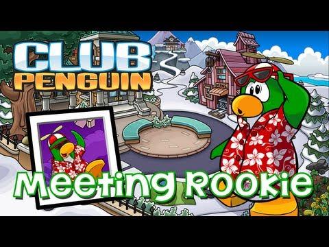 Club Penguin: Meeting Rookie/Visiting Rookie's Igloo July 2013 (School Opening Celebration)