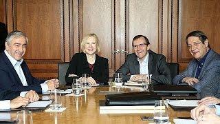 Cyprus reunification talks resume in Switzerland