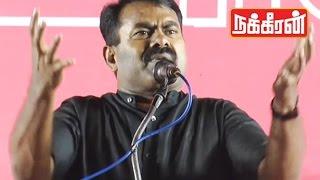 Seeman Thundering Speech | What is Tamil Desiyam ?