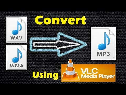 How to Convert WAV to MP3 Audio using VLC Media Player 2016 (Easiest Way)