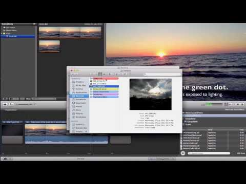 How to Import Pictures to iMovie WITHOUT using iPhoto or Photobooth!
