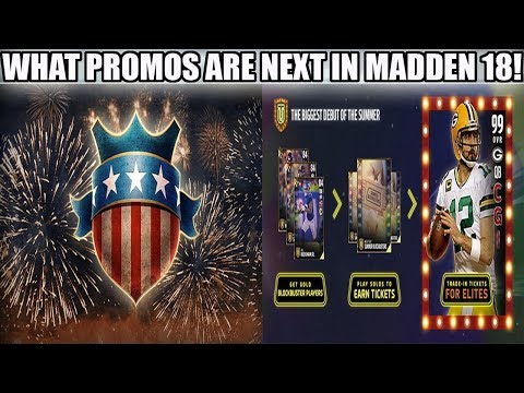 BLOCKBUSTER PROMO, YEAR IN REVIEW, WHATS NEXT IN MADDEN 18! | MADDEN 18 ULTIMATE TEAM