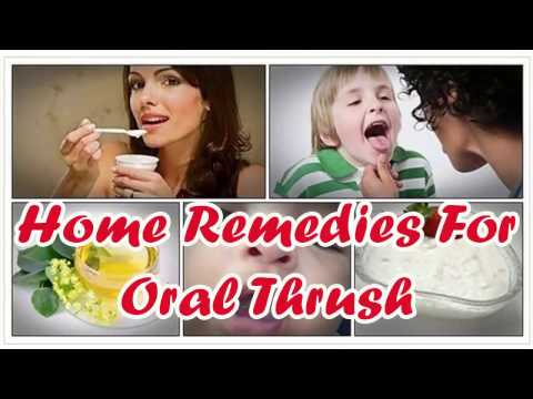 Oral Thrush Treatment - Natural Home Remedies For Oral Thrush