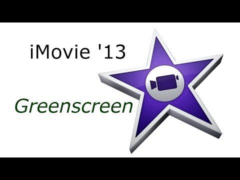 iMovie '13 Green-/ Bluescreen tutorial deutsch