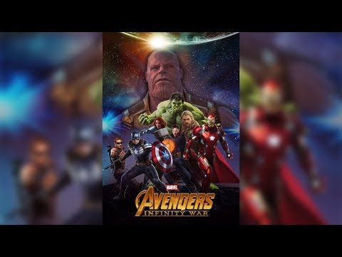 How to make avengers infinity war Movie Poster In Photoshop
