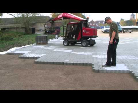 H88 Paver Laying Machines for driveways, parkways