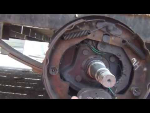 How Trailer Brakes Work & How To Inspect   (Quick Short Tutorial) video