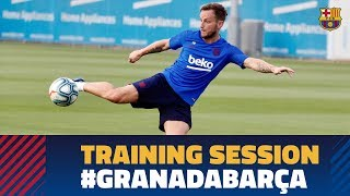 TRAINING SESSION   Ready for the game against Granada!