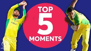 Starc's Yorker? Maxwell's Catch? | Australia vs England - Top 5 Moments | ICC Cricket World Cup 2019