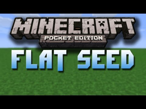 Flat Seed - Minecraft Pocket Edition