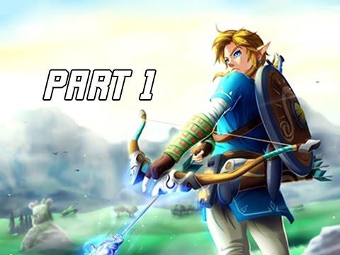 Legend of Zelda Breath of the Wild Walkthrough Part 1 - Link's Awakening (Let's Play Commentary)