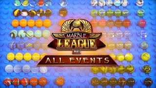 Marble Race: Marble League 2021 ALL EVENTS