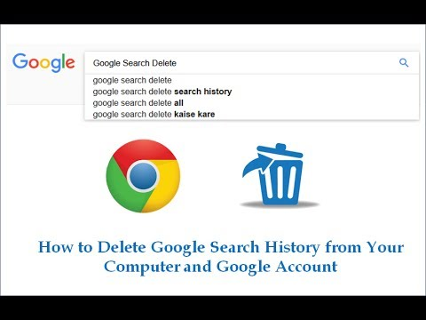 How to Delete Google Search History from Your Computer and Google Account