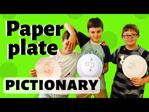 PAPER PLATE PICTIONARY: game for all topics | CHILDREN'S MINISTRY IDEAS