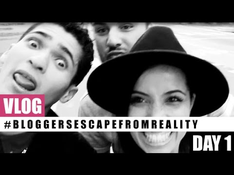VLOG! Day One of the #BloggersEscapeFromReality Weekend: Brand Workshops