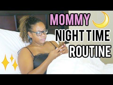 NIGHT TIME ROUTINE! 2017 SINGLE MOM EDITION!