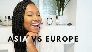 Asia Vs. Europe | Cost? Being Black? First Impressions!