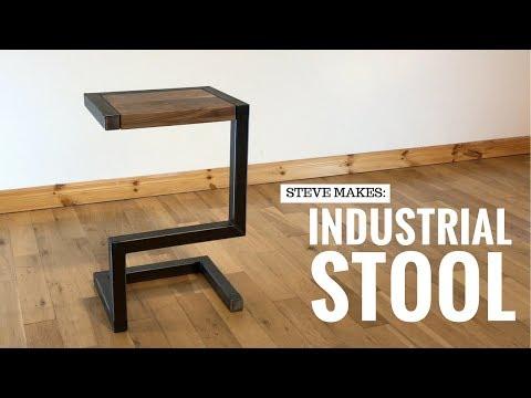 Steve Makes: An Industrial Stool