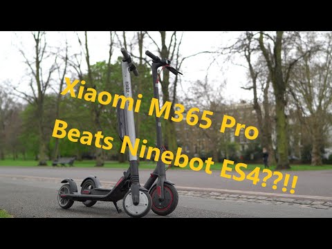 Xiaomi M365 Pro is MORE Powerful than Ninebot ES4? World's