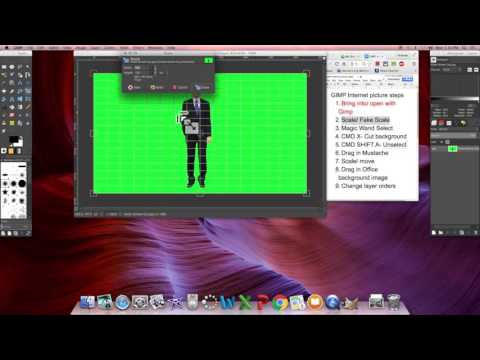 How to Remove a Green Background in GIMP
