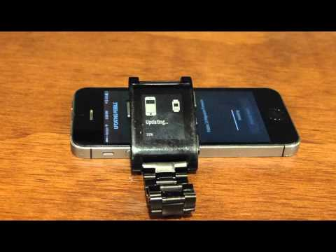 How to update the Peeble Classic and Pebble Steel to Timeline from the Pebble Time